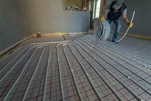 Chauffage Au Sol : installation chauffage par le sol m thodes et infos sur ~ Premium-room.com Idées de Décoration