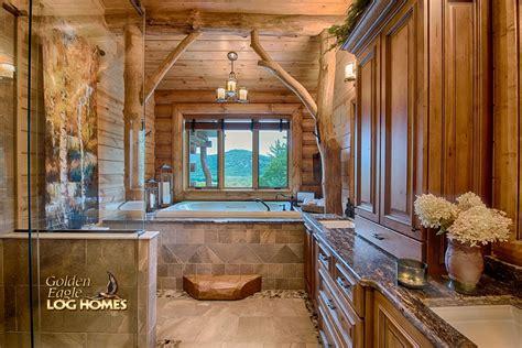 bathroom real tree accents