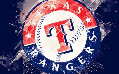 HD wallpaper: Baseball, Texas Rangers, Logo, MLB ...