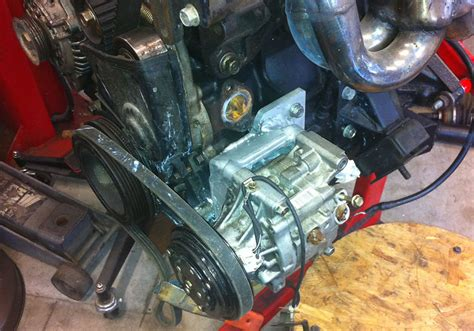 retrofitting a newer ac compressor grassroots motorsports