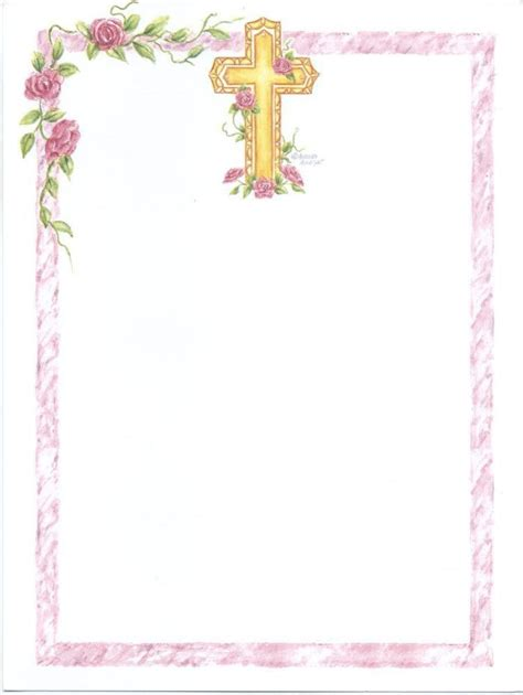 First Communion Banner Templates Unique 13 Blank Girl S