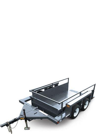 jlg drop deck utility trailer ut49 utility trailer jlg