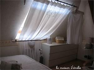 Rideaux velux wikiliafr for Décoration chambre adulte avec volet roulant solaire pour fenetre de toit velux