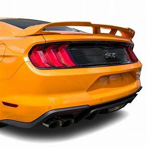 T5i® - Ford Mustang Coupe 2018 Factory Style Fiberglass Rear Spoiler