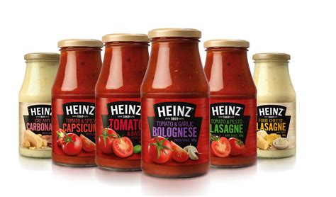 heinz pasta sauce product   year