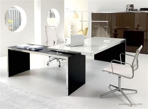 bureau de direction blanc focus sur archives le du mobilier de bureau par