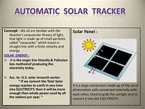 solar tracker With automatic tracking system