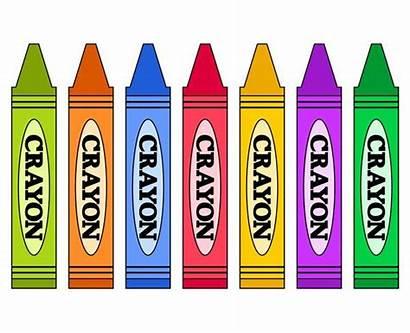 Crayons Clip Clipart Rainbow