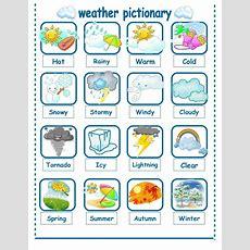 Weather Seasons Pictionary