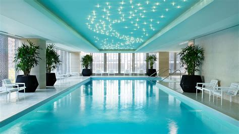 Hotel Swimming Pool  Chicago Luxury Hotel  The Langham