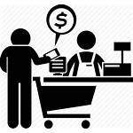 Cashier Icon Counter Payment Shopping Mobile Pay