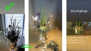 Frühlingsdeko Im Glas : diy fr hlingsdeko blumendeko im glas osterdeko i spring centerpiece dekoideenland youtube ~ Orissabook.com Haus und Dekorationen