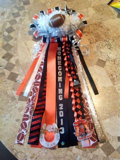homecoming mums for boys boy s garter mum 2013 mums pinterest