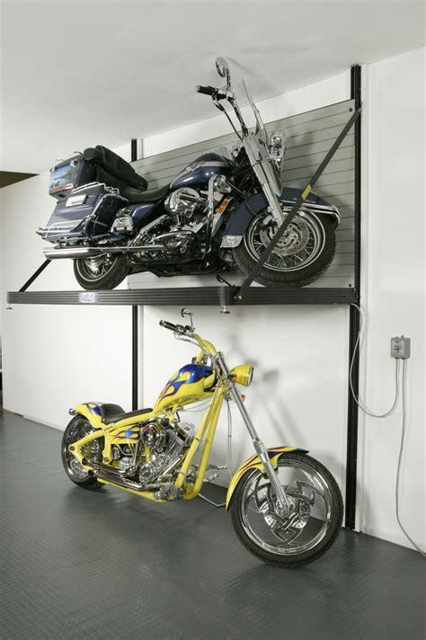 Motorcycle Storage Garage Motorcycle Storage Lift