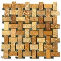 basket weave tile basketweave marble mosaic tile gold basket weave