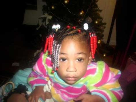 natural kids hairstyle beads braids  ponytails youtube