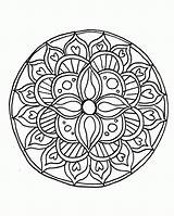 Coloring Mandala Pages Buddhist Popular sketch template
