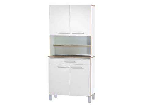 conforama meuble de cuisine buffet buffet de cuisine debora coloris blanc chez conforama