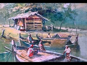 M.S.Devasahayam - Indian Watercolor Master (Part.1) - YouTube