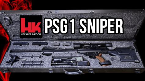 hk psg sniper rifle overview youtube