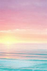 sky beach ocean pastel hipsandbones •