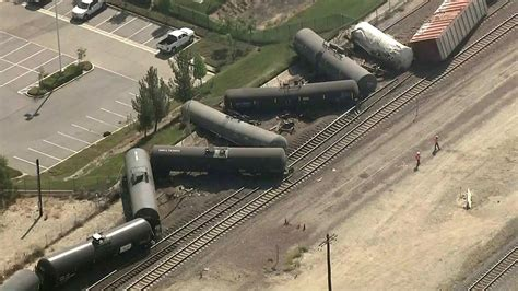 Train Derailment Leads To Evacuations In San Bernardino