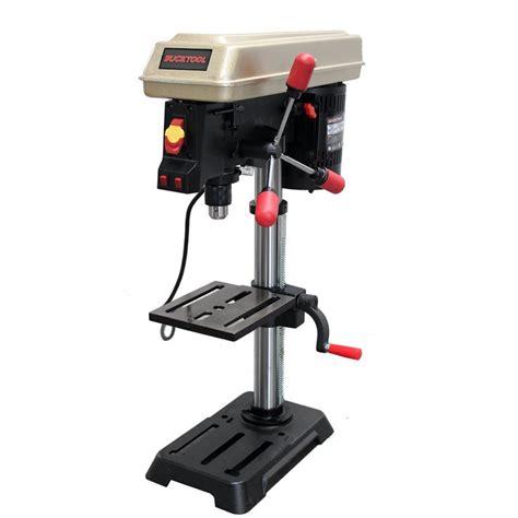 bucktool drill press    speed laser track guided