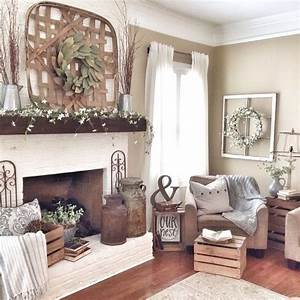 50, Lively, And, Inspiring, Rustic, Living, Room, Decorating, Ideas, That, You, Can, Decorate, Your, Rooms