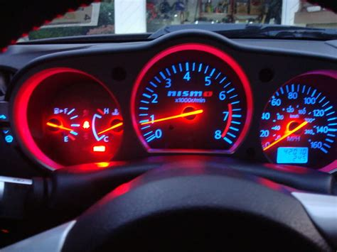 changing dashboard light color