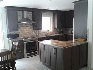 Couleur Cuisine Moderne : cuisine petite cuisine moderne avec violet couleur ~ Melissatoandfro.com Idées de Décoration