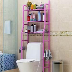 3, Tiers, Storage, Rack, Over, Toilet, Bath, Laundry, Washing, Machine, Towel, Shelf, 63, Inches, Height