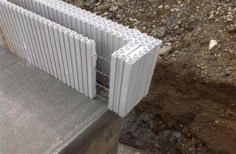 bloc coffrant isolant pour les murs des b 226 tis passifs ou positifs bloc coffrant isolant