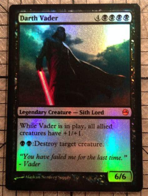 Magic The Gathering Custom Star Wars Foil Card By