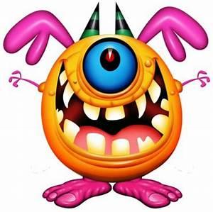 Evil Alien Ball Mascot