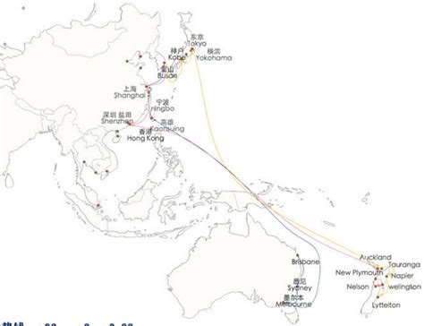 Ship Route by Shipping Routes Cargo From China