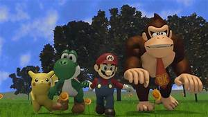 Why Did Mario Do It 3D Animated Remake SSB Commercial