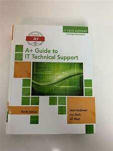A  Guide For It Technical Support By Jean Andrews  2016