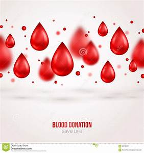 Donor Poster Or Flyer. Blood Donation Lifesaving Stock ...