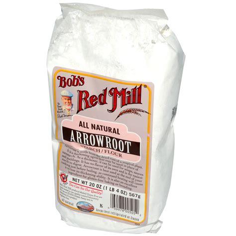 arrowroot powder bob s red mill arrowroot starch flour all natural 20 oz 567 g iherb com