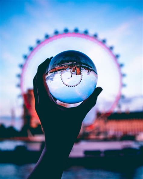 mindblowing lensball photography images