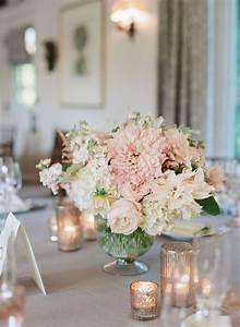 Round Reception Table Romantic Wedding At San Ysidro Ranch Blush Wedding
