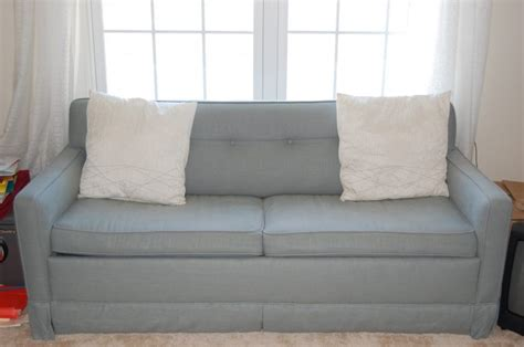 How To Reupholster A Sleeper Sofa how to reupholster sleeper sofas tiny spaces living