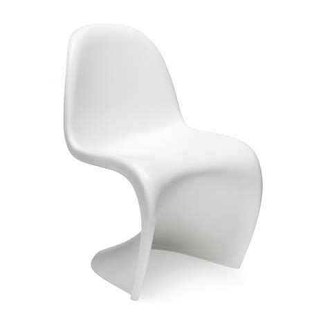 chaise verner panton white s chair cult furniture uk