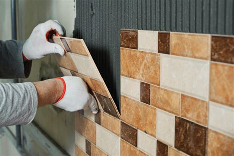 installing glass tile on wall how to create an accent wall with wall tile