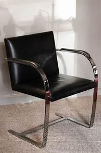 Fauteuil Mies Van Der Rohe : fauteuil brno mies van der rohe knoll vintage le buzz de rouen ~ Melissatoandfro.com Idées de Décoration