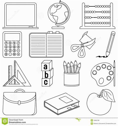 school supplies coloring page coloring pages school 491   3cc74d5756f11e2ec1b9aaf64427c2f2