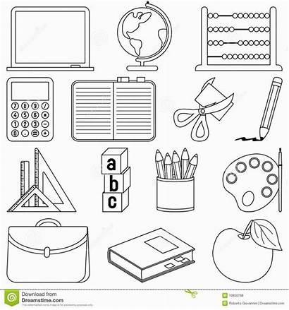 Coloring Supplies Preschool Kindergarten Printable Printables Worksheets