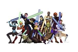 Clone Wars All Jedi Characters