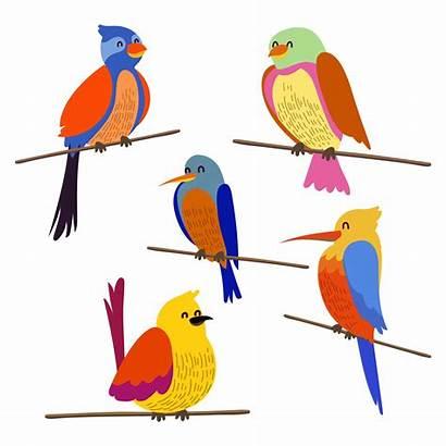 Bird Clipart Birds Perch Vector Clip Flying