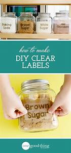 25 best ideas about clear labels on pinterest label With clear labels for printing